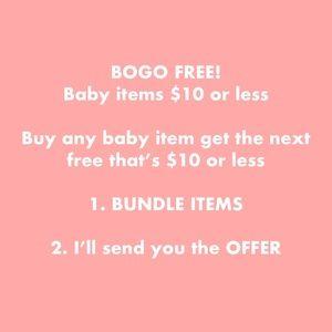 BOGO BABY ITEMS! Buy 1 get 1 FREE 🦋